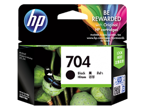 Jual Tinta HP 704 Black