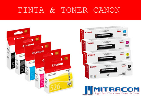 MITRACOM SUPPLIER TINTA TONER PRINTER MURAH